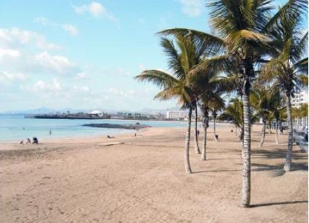 Playa del Reducto en Arrecife